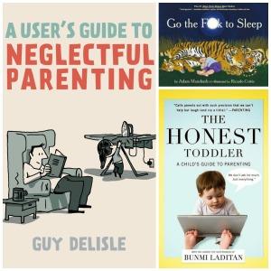 bad-parenting-books Ontspannen ouderschap